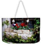 Quaint Stone Planter Weekender Tote Bag
