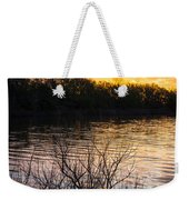 Quanah Parker Lake Sunrise Weekender Tote Bag