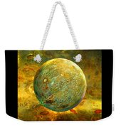 Quantum Soul...orb Of Light Weekender Tote Bag by Robin Moline