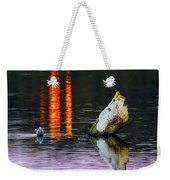 Quarry Lake Reflections Weekender Tote Bag