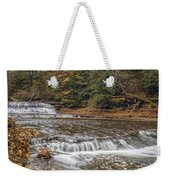 Quarry Rock Falls Weekender Tote Bag