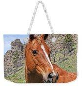 Quarter Horse Portrait Montana Weekender Tote Bag
