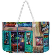 Quarter Of A View  Weekender Tote Bag