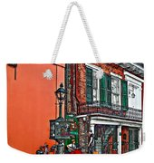Quarter Time Painted 2 Weekender Tote Bag