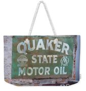 Quater State Oil Weekender Tote Bag