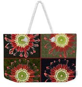 Quatro Floral - 0102cba Weekender Tote Bag