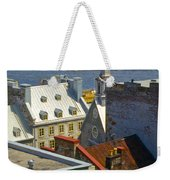 Quebec Lower Town Weekender Tote Bag