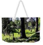 Quechee Vermont Cemetary Weekender Tote Bag