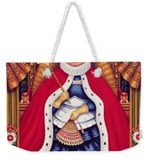 Queen Alice, 2008 Oil And Tempera On Panel Weekender Tote Bag
