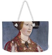 Queen Anne Of Hungary And Bohemia Weekender Tote Bag