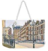 Queen Annes Gate Oil On Canvas Weekender Tote Bag