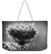 Queen Annes Lace - Bw Weekender Tote Bag