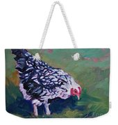 Queen Annes Lace        Hen Weekender Tote Bag