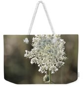 Queen Annes Lace - 3 Weekender Tote Bag