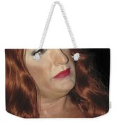 Portrait Of A Fire Island Queen Weekender Tote Bag