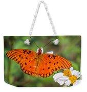 Queen Butterfly Weekender Tote Bag