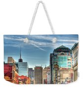 Queen City Downtown Weekender Tote Bag