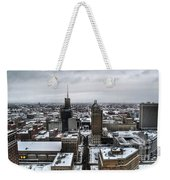 Queen City Winter Wonderland After The Storm Series 001 Weekender Tote Bag