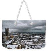 Queen City Winter Wonderland After The Storm Series 0011 Weekender Tote Bag