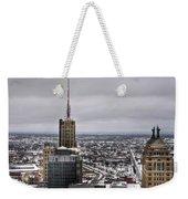 Queen City Winter Wonderland After The Storm Series 0012 Weekender Tote Bag
