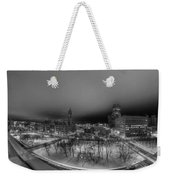 Queen City Winter Wonderland After The Storm Series 0018a Weekender Tote Bag