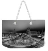 Queen City Winter Wonderland After The Storm Series 0019 Weekender Tote Bag