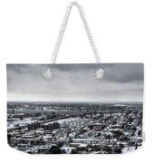 Queen City Winter Wonderland After The Storm Series 002 Weekender Tote Bag