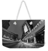 Queen City Winter Wonderland After The Storm Series 0023a Weekender Tote Bag