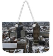 Queen City Winter Wonderland After The Storm Series 004 Weekender Tote Bag