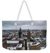 Queen City Winter Wonderland After The Storm Series 007 Weekender Tote Bag