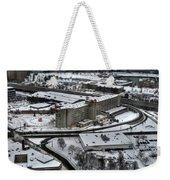 Queen City Winter Wonderland After The Storm Series 008 Weekender Tote Bag
