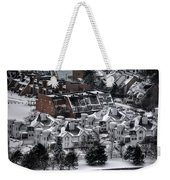 Queen City Winter Wonderland After The Storm Series0028 Weekender Tote Bag