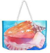 Queen Conch Shell Weekender Tote Bag
