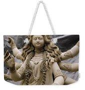 Queen Durga Weekender Tote Bag by Shaun Higson