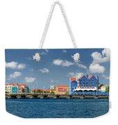 Queen Emma Bridge Open Curacao Weekender Tote Bag