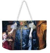 Queen Henrietta Maria (1609-69) Weekender Tote Bag