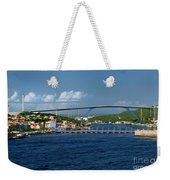 Queen Juliana Bridge  Queen Emma Bridge Curacao Weekender Tote Bag