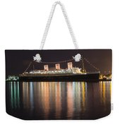 Queen Mary Decked Out For The Holidays Weekender Tote Bag