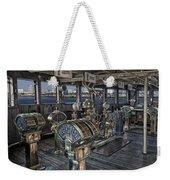 Queen Mary Ocean Liner Bridge 01 Extreme Weekender Tote Bag