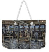 Queen Mary Ocean Liner Bridge 02 Extreme Weekender Tote Bag