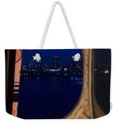 Queen Mary Port Hole Night  Weekender Tote Bag
