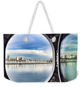 Queen Mary Starboard View Weekender Tote Bag