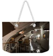 Queen Mary Sun Deck Weekender Tote Bag