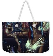 Queen Of Atlantis Weekender Tote Bag