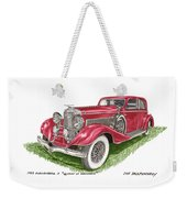 Queen Of Diamonds 1933 Duesenberg Model J Weekender Tote Bag