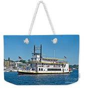 Queen Of Seattle Vintage Paddle Boat Art Prints Weekender Tote Bag