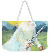 Queen Of Swords Weekender Tote Bag
