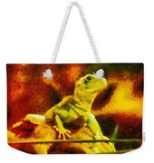 Queen Of The Reptiles Weekender Tote Bag