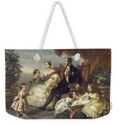 Queen Victoria & Family Weekender Tote Bag