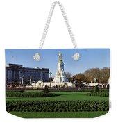 Queen Victoria Memorial At Buckingham Weekender Tote Bag